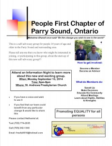 People First Flyer