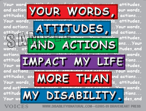 Quotes About Disabilities Captivating The Importance Of Positive Communication To People With