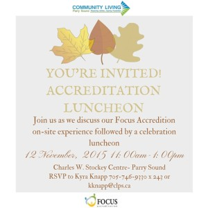 FINAL ACCREDITATION LUNCHEON