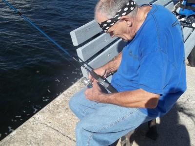 Bob Fishing